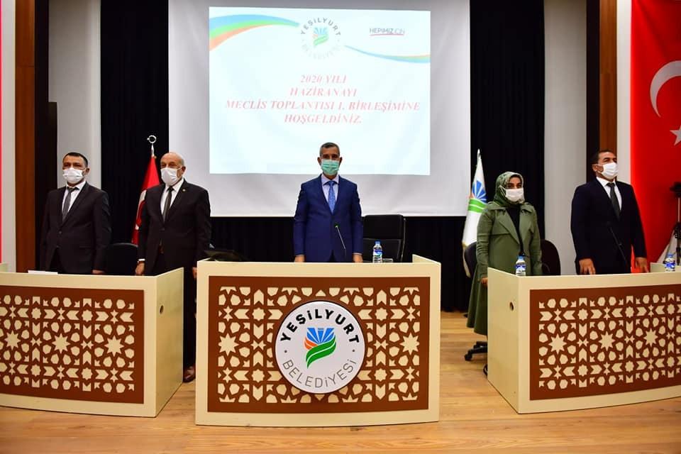 Yeşilyurt Belediye Meclisi seçimle toplantılara başladı