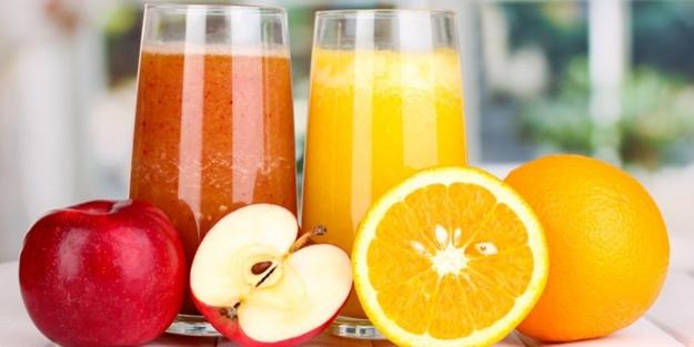 Yılda 1 milyar litre meyve suyu tüketiyoruz