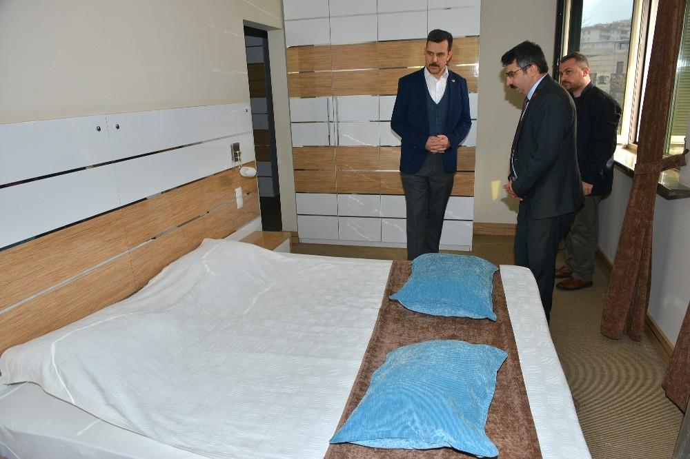 Yıldırım Belediyesi bünyesindeki oteli sağlık çalışanlarına tahsis etti