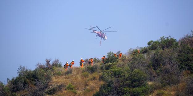 Yılın en büyük yangını: Kırmızı alarm verildi