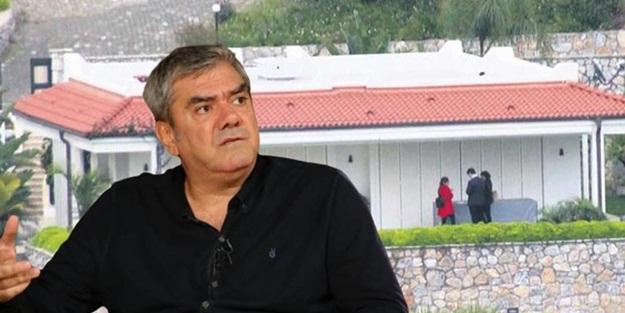 Yılmaz Özdil'in villası mühürlendi! İşte yıkımın planlandığı tarih