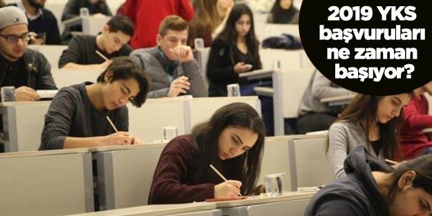 YKS 2019 sınavı ne zaman yapılacak? ÖSYM YKS başvuru tarihi