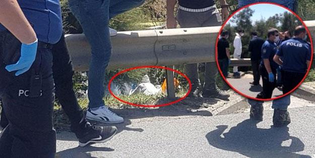 Yol kenarındaki poşetin içini görünce hemen polisi aradı