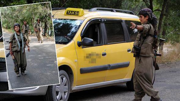 Yol keserken görüntülenen o teröristler öldürüldü