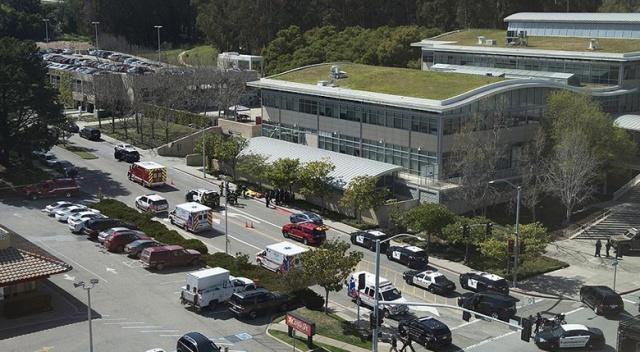YouTube ana merkezinde silahlı saldırı: ölü ve yaralılar var