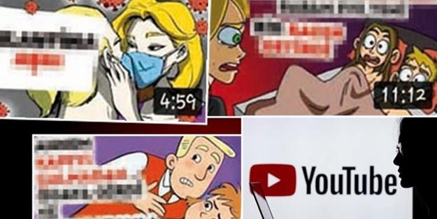 Youtube'da 'ifşa' rezaleti! Çocuklara büyük tuzak