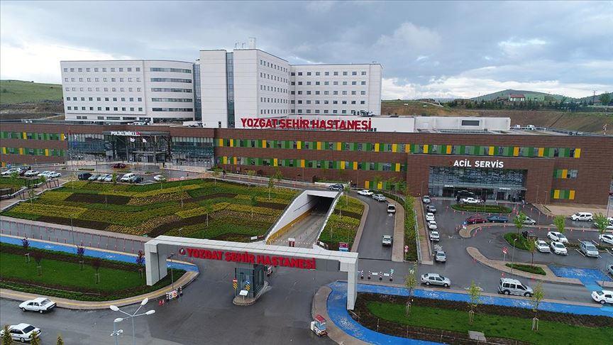Yozgat Şehir Hastanesi Kovid-19'la mücadele için pandemi hastanesine dönüştürüldü