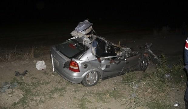 Yozgat'ta korkunç kaza: 2 ölü, 5 yaralı...