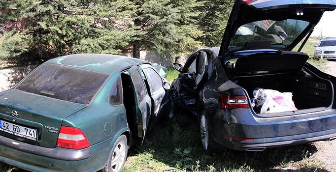 Yozgat'ta trafik kazası: 5 kişi yaralı