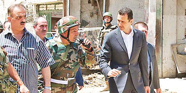 YPG şimdi de katil Esed'e sarıldı