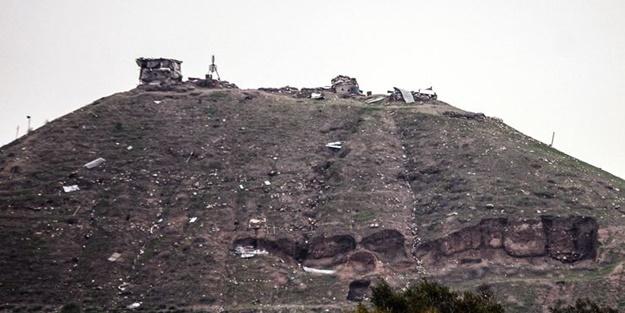 YPG'li teröristleri korku sardı! Mevzileri bırakıp kaçtılar