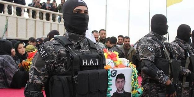 YPG'nin sözde özel kuvvetleri