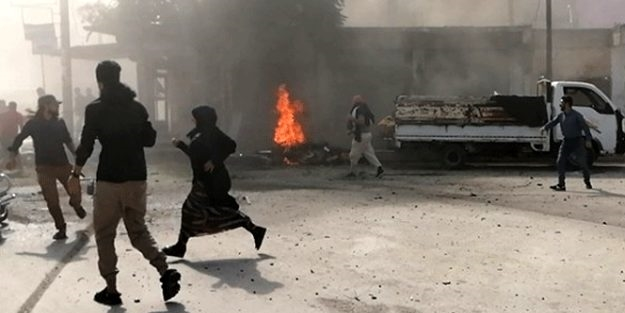 YPG/PKK'dan hain saldırı! Yaralılar var