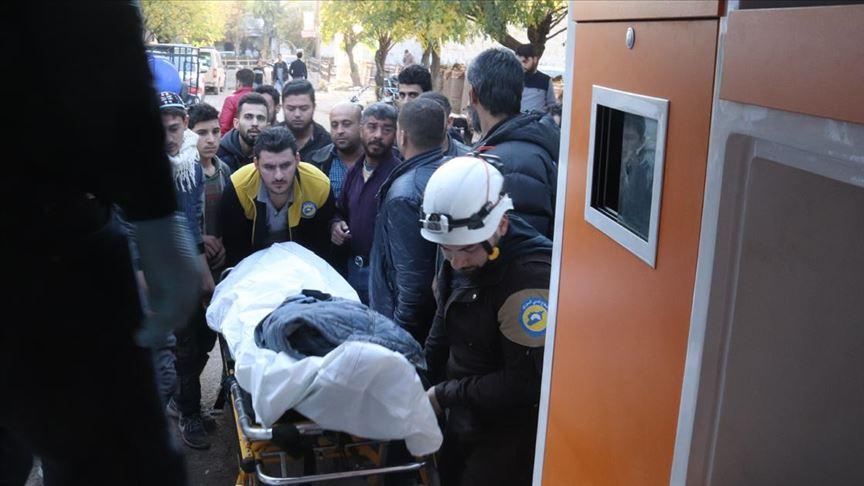 YPG/PKK Tel Rıfat'tan Azez'deki sivillere saldırdı yaralılar var