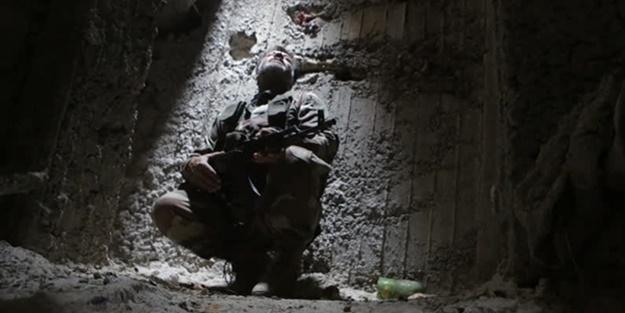 YPG/PKK'nın 12 kilometrelik tüneldeki konteynır odası ortaya çıktı