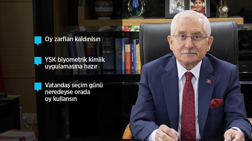 YSK Başkanı Güven: Seçim güvenliği açısından dünyanın en iyilerinden birisiyiz