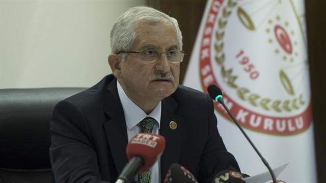 YSK Başkanı'ndan MHP açıklaması