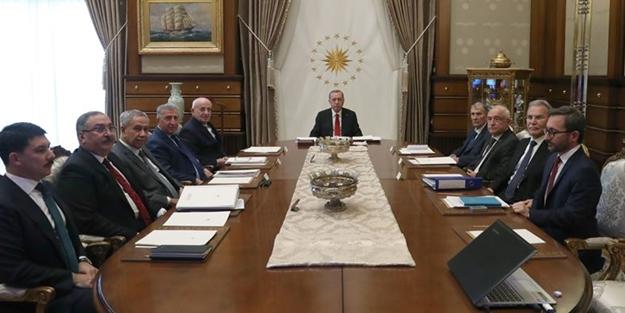 Yüksek İstişare Kurulu Toplantısı'nın ardından Cumhurbaşkanlığı'ndan flaş açıklama!