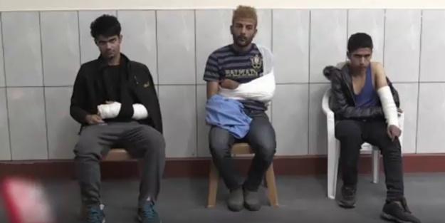 Yunan askerleri mültecileri dövüp Türkiye'ye gönderdi