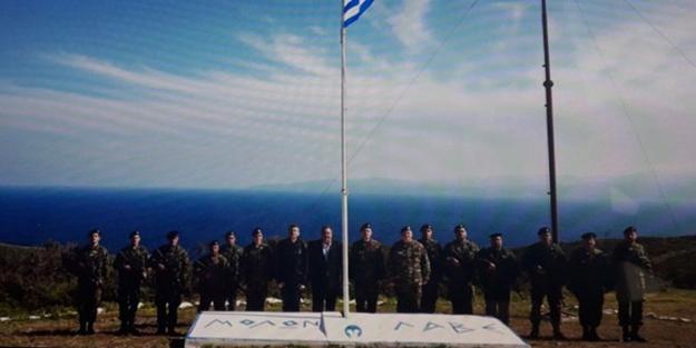 Yunan bakandan yeni tahrik: Gücün yetiyorsa gel al