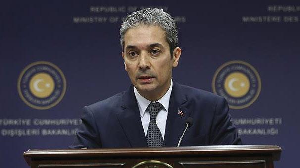 Yunan bakanın açıklamalarına Dışişleri Bakanlığı'ndan sert cevap
