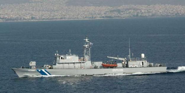 Yunan Deniz Kuvvetleri tarafından ateş açıldı! Yaralılar var