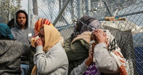 Yunan kamplarındaki göçmenler tehlikede