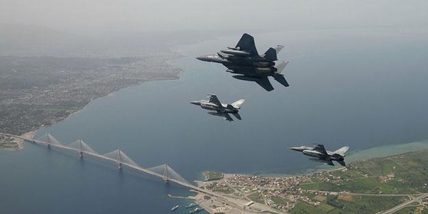 Yunan kaşınıyor! Sınırın sıfır noktasında F-16'lar uçtu