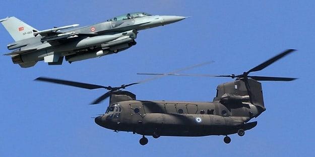 Yunan komutanlar Türk F-16'sını görünce...