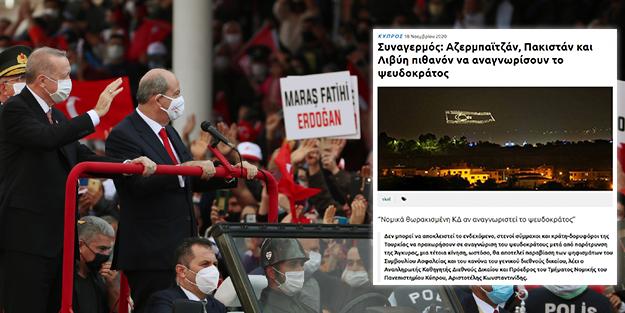 Yunan medyası 3 ülkenin KKTC'yi tanıyacağını yazıp ulusal alarm çağrısı yaptı