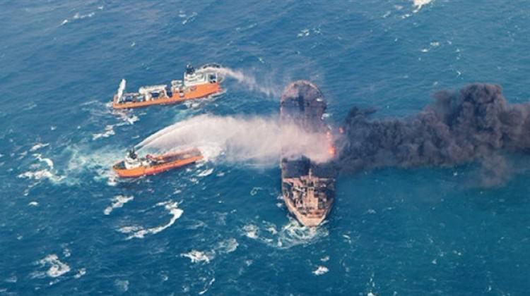 Yunan tankeri patlamaya devam ediyor!
