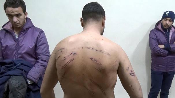 Yunanistan göçmenleri demir çubukla dövdü