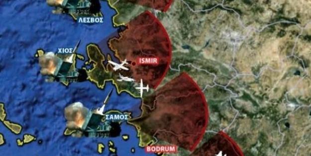 Yunanistan kışkırtıyor! Türkiye'ye karşı küstah savaş senaryosu