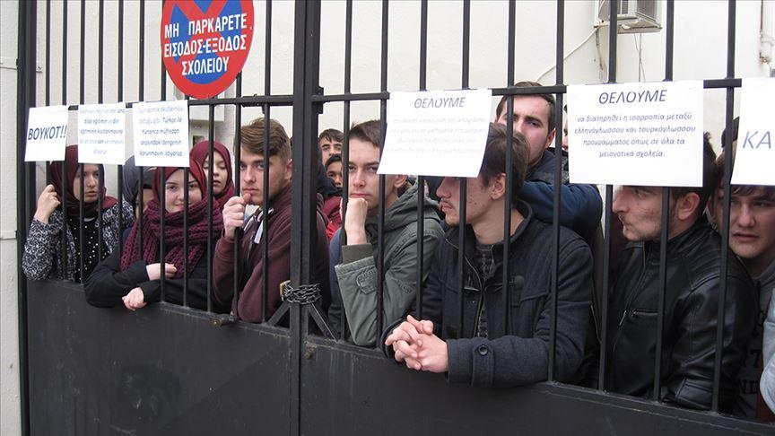 Yunanistan Türk azınlığa yönelik baskılarını sürdürüyor