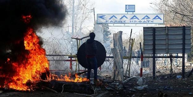 Yunanistan tutuştu! Mülteciler için acil çağrı