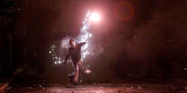 Yunanistan'da olaylı 17 Kasım anması