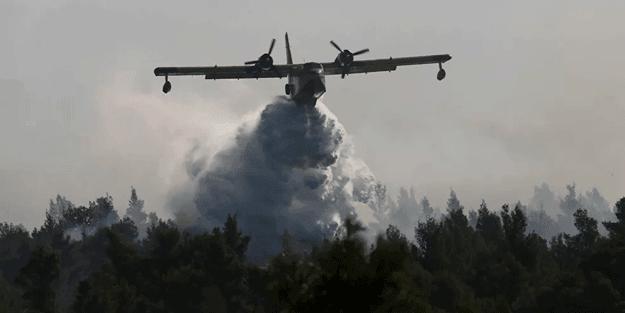 Yunanistan'da yangın alarmı