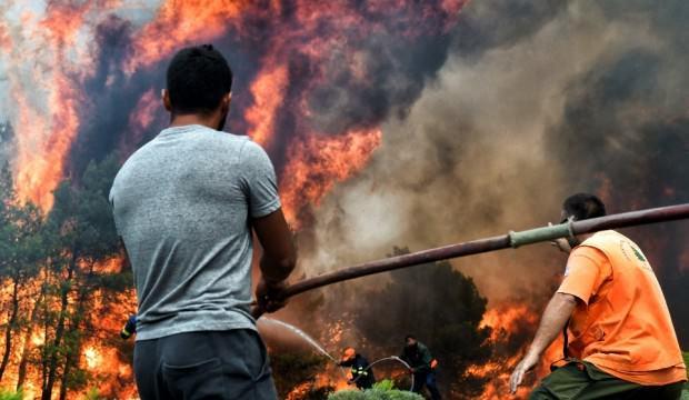 Yunanistan'daki orman yangınında komplo teorileri