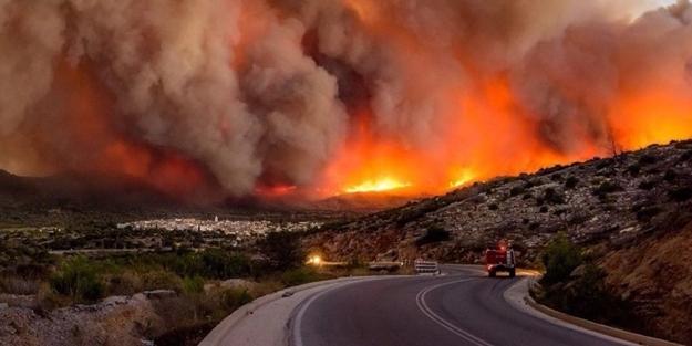 Yunanistan'daki yangının nedeni açıklandı