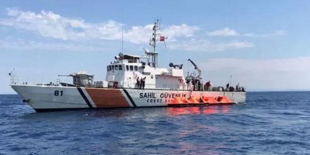 Yunanlıların sürüklediği 72 sığınmacı kurtarıldı