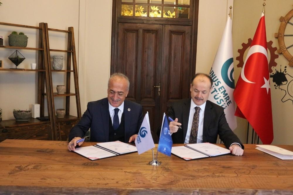 Yunus Emre Enstitüsü ile iş birliği protokolü imzalandı