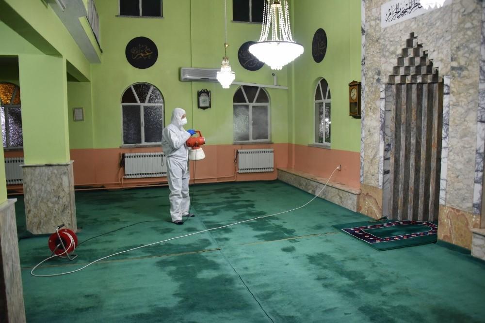 Yunusemre'de camiler ibadete açılıyor