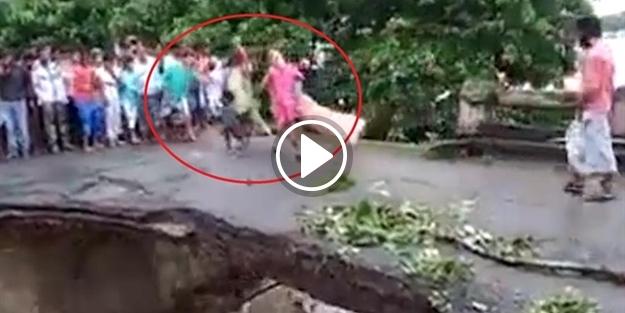 Yürek dağlayan görüntüler: Bir aile ölüme böyle gitti!