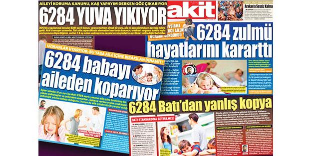 """Yuva yıkan """"6284""""e Taksim'de protesto"""