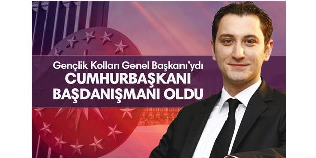 Zafer Çubukcu, Cumhurbaşkanı Tayyip Erdoğan'ın başdanışmanı oldu