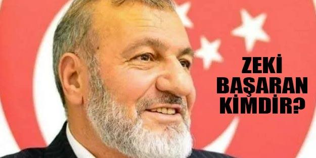 Zeki Başaran kimdir nerelidir? Saadet Partisi Sancaktepe belediye başkan adayı Zeki Başaran