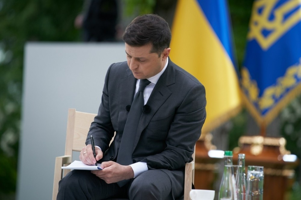 """Zelenskiy: """"Putin ile korona salgınından sonra görüşeceğiz"""""""