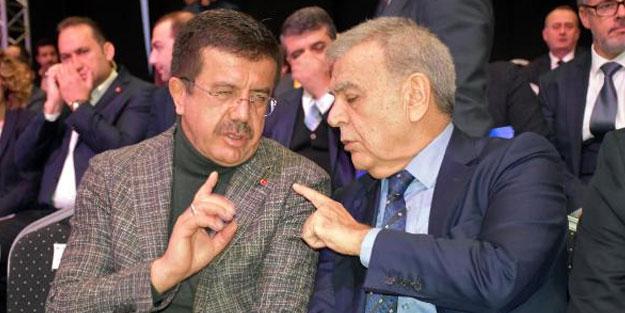 Zeybekci ve Kocaoğlu arasında samimi sohbet! Fuarda İzmir'i konuştular