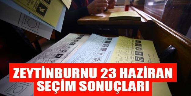 Zeytinburnu seçim sonuçları son dakika 23 Haziran Binali Yıldırım Ekrem İmamoğlu kim önde?