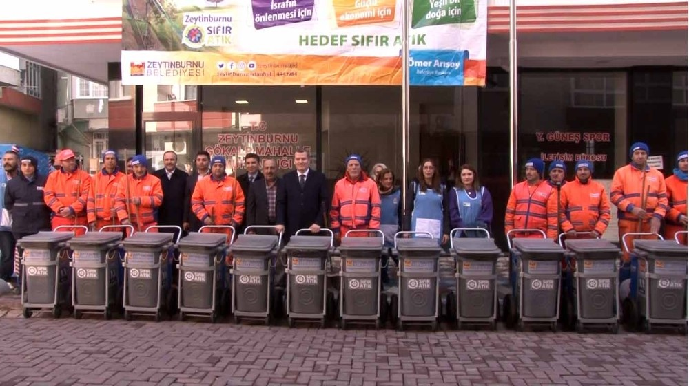 Zeytinburnu'nda sıfır atık projesine iki mahalle daha katıldı